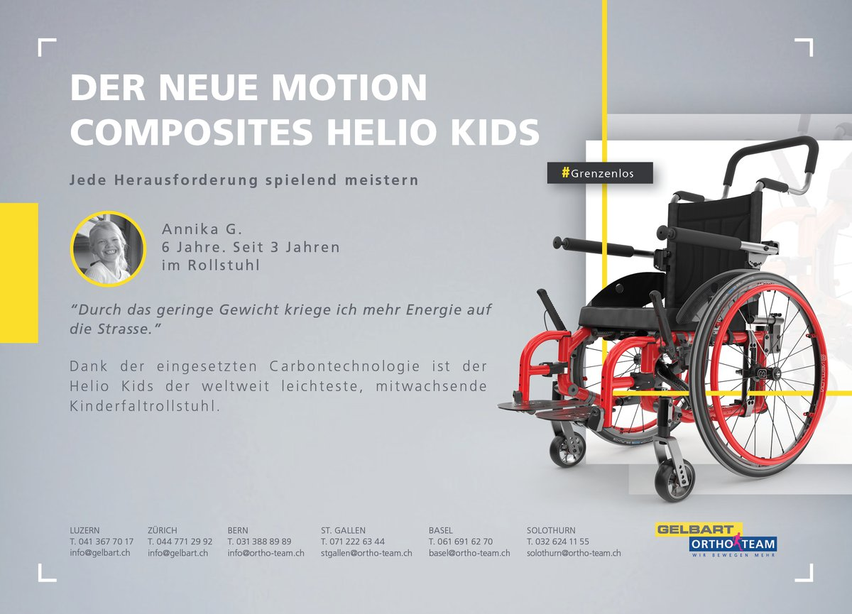 Der neue Motion Composites Helio Kids